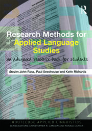 Research Methods for Applied Language Studies: An Advanced Resource Book for Students