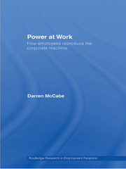 Power at Work - 1st Edition book cover