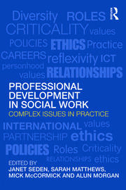 Professional Development in Social Work - 1st Edition book cover