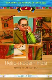Retro-modern India - 1st Edition book cover
