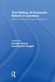 The Politics of Economic Reform in Germany - 1st Edition book cover