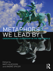 Metaphors We Lead By - 1st Edition book cover