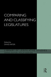 Comparing and Classifying Legislatures - 1st Edition book cover