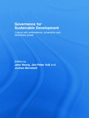 Governance for Sustainable Development - 1st Edition book cover