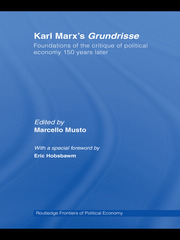 Karl Marx's Grundrisse - 1st Edition book cover