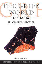 The Greek World 479-323 BC - 4th Edition book cover
