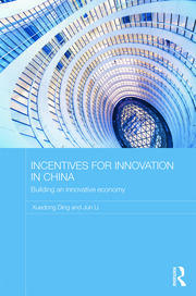 Incentives for Innovation in China - 1st Edition book cover