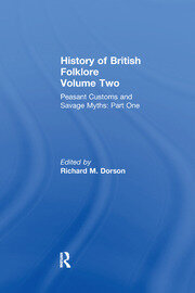 History of British Folklore - 1st Edition book cover