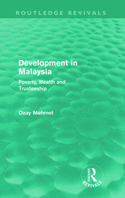 Development in Malaysia (Routledge Revivals) - 1st Edition book cover