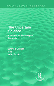 The Uncertain Science (Routledge Revivals) - 1st Edition book cover