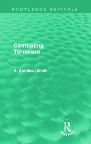 Combating Terrorism (Routledge Revivals) - 1st Edition book cover