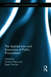 The Applied Law and Economics of Public Procurement - 1st Edition book cover