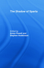 The Shadow of Sparta - 1st Edition book cover