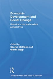 Economic Development and Social Change - 1st Edition book cover