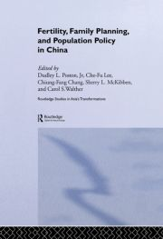 Fertility, Family Planning and Population Policy in China - 1st Edition book cover