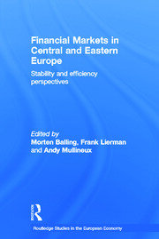 Financial Markets in Central and Eastern Europe - 1st Edition book cover