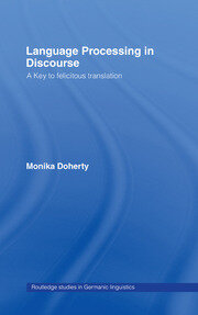 Language Processing in Discourse - 1st Edition book cover