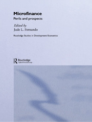 Microfinance - 1st Edition book cover