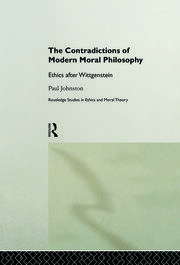 The Contradictions of Modern Moral Philosophy - 1st Edition book cover
