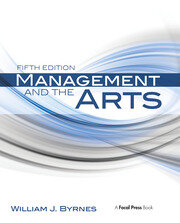 Management and the Arts - 5th Edition book cover