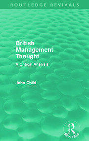 British Management Thought - 1st Edition book cover