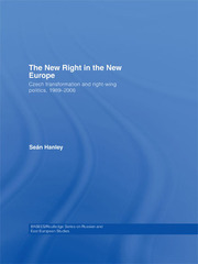 The New Right in the New Europe - 1st Edition book cover