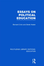 Essays on Political Education - 1st Edition book cover