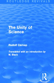 The Unity of Science (Routledge Revivals) - 1st Edition book cover