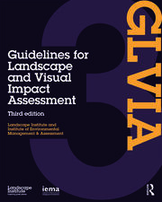 Guidelines for Landscape and Visual Impact Assessment - 3rd Edition book cover