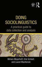 Doing Sociolinguistics - 1st Edition book cover