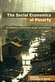 The Social Economics of Poverty - 1st Edition book cover