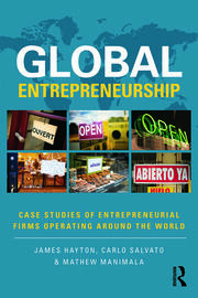 Global Entrepreneurship - 1st Edition book cover