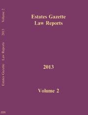 EGLR 2013 V2 - 1st Edition book cover