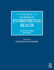Clay's Handbook of Environmental Health - 21st Edition book cover