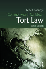 Commonwealth Caribbean Tort Law - 5th Edition book cover