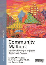 Community Matters: Service-Learning in Engaged Design and Planning - 1st Edition book cover