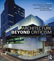Architecture Beyond Criticism - 1st Edition book cover