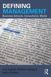 Defining Management - 1st Edition book cover