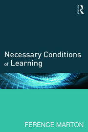 Necessary Conditions of Learning - 1st Edition book cover