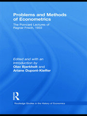 Problems and Methods of Econometrics - 1st Edition book cover