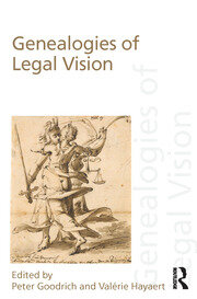 Genealogies of Legal Vision - 1st Edition book cover