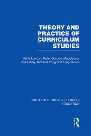 Theory and Practice of Curriculum Studies - 1st Edition book cover