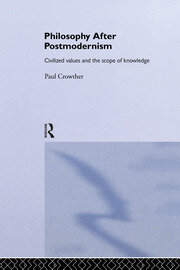 Philosophy After Postmodernism - 1st Edition book cover