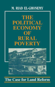 The Political Economy of Rural Poverty - 1st Edition book cover