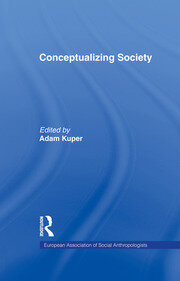 Conceptualizing Society - 1st Edition book cover