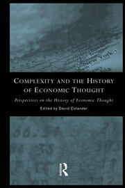 Complexity and the History of Economic Thought - 1st Edition book cover