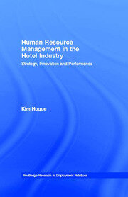 Human Resource Management in the Hotel Industry - 1st Edition book cover