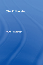 The Zollverein - 1st Edition book cover