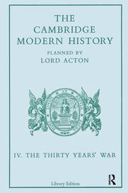 The Cambridge Modern History - 1st Edition book cover