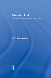 Friedrich List - 1st Edition book cover